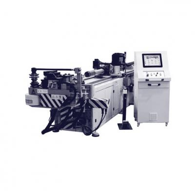 Mandrel bending machine for pipes and profiles